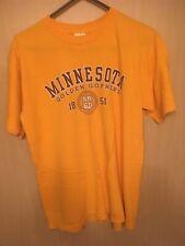 University of Minnesota Golden Gophers T-Shirt (Adult Medium)