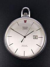 OMEGA De Ville Chronometer Electronic pocket watch f300Hz Taschenuhr rare