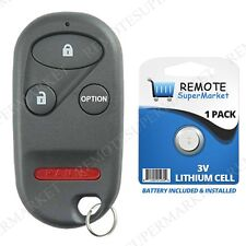 Replacement for Acura 1997-1999 CL 1994-2001 Integra Remote Car Keyless Key Fob