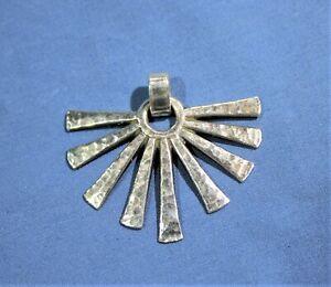 James Avery Sterling Silver Fan Pendant - Retired