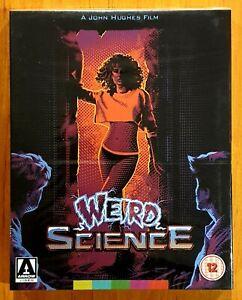 Weird Science (1985) Blu Ray with Limited Slipcover Arrow UK Region B New/Sealed