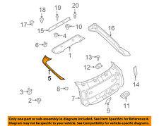 BMW OEM 08-14 X6 Liftgate Tailgate Hatch-Side Gate Trim Left 51497045865