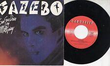 GAZEBO disco 45 giri MADE in ITALY Sun goes down on milkyway + Pain 1987