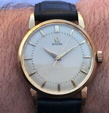 VINTAGE OMEGA 2862/2865 3 SC AUTOMATIC  CAL.501 GOLD PLATED 80 MICRON SERVICED
