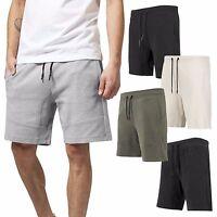 Urban Classics Herren Sweatshorts Shorts kurze Hose Sporthose Fitness Interlock