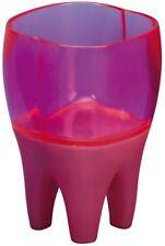 Sanwood 1045022 Zahnputzbecher Putzi erdbeer, mit Lied und Lichteffekten, Kunsts