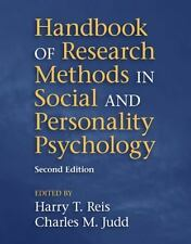 Handbook of Research Methods in Social and Personality Psychology (2014,...