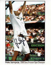 Pete Sampras (USA) Tennis, Wimbledon , Grand Slam original signiert/signed !!!