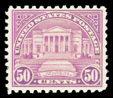 Scott 701 1931 50c Arlington Rotary Press Issue Mint F-VF OG LH Cat $30