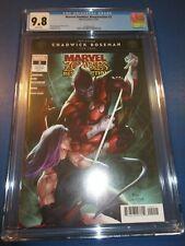 Marvel Zombies Resurrection #2 Boseman Tribute CGC 9.8 NM/M Gorgeous Gem Wow