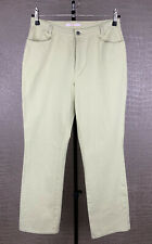 MAC Damen Gr. 44 L34 Jeans Hose Melanie Stretch Denim gelbgrün Pastell 402