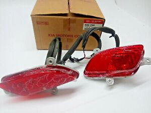 Original Kia Venga, Nebelschlussleuchten Set, 924031P000, Neu