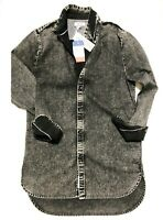 Tommy Hilfiger Denim Herren Jeans Hemd THDM Long Fit - Gr.M bis XL,, NEU!!