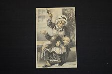 Jacob Burk's Boots and Shoes Lancaster PA Trade Card