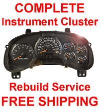 2002-2009 Gmc Envoy Speedometer Instrument Gauge Cluster Panel Complete Repair