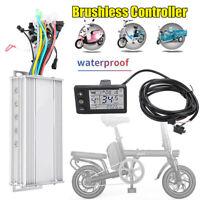 1000W Brushless Motor Speed Controller LCD Panel for Electric Scooter E-bike Set