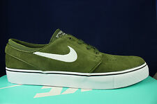 NIKE SB ZOOM STEFAN JANOSKI LEGION GREEN WHITE BLACK 333824 310 SZ 11.5
