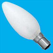 6x 40W Opal/Pearl Dimmable Incandescent Standard Candle Light Bulbs SBC B15 Lamp