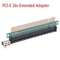 PCI-E 16x Male to Female riser extended adapter for 1U 2U 3U IPC chas ba