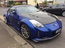 2007 Nissan 350Z COUPE V6 bleu rare faible kilométrage Z Voiture 2 Seat Sport 3DR Nouveau mot