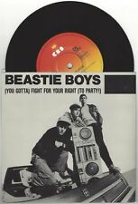"""Beastie Boys """"Fight For Your Right/Paul Revere"""" 7"""" Orig Aussie LL Cool J Run DMC"""