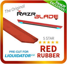 FaceLift RazrBLADE RED Squeegee Rubber Window Cleaning Traditional - Liquidator