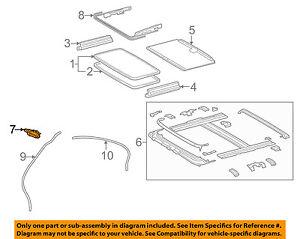 63260-53071 Toyota Gear sub-assy, sliding roof drive 6326053071, New Genuine OEM