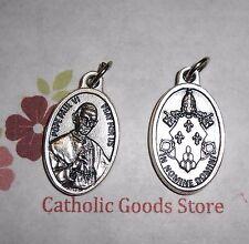 Pope Paul VI  - Die-Cast Italian Silver tone 1 inch Medal