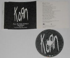 Korn - All in the Family remixes - 1998 U.S. promo cd