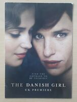 The Danish Girl UK promo only Premiere Invite Eddie Redmayne Alicia Vikander