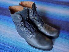 VTG John Varvatos Six O Six (606) Artisan Leather Boots, Dark Green, Men's 10.5