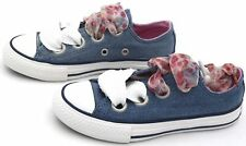 CONVERSE ALL STAR JUNIOR GIRL SNEAKER SHOES SPORTS CASUAL TRAINER 660973C DEFECT
