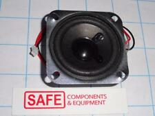 """Speaker 2.4""""Sq (60mm) x 0.95""""D 8-Ohm 2W Full Flanged Pre-Wired 12"""" Qty-1    E43"""