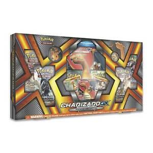 POKEMON SUN & MOON CHARIZARD GX PREMIUM COLLECTION GIFT BOX SET SEALED! RARE!