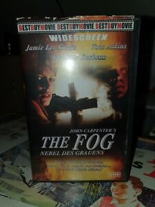 The Fog Nebel des Grauens VHS Klassiker John Carpenter Jamie Lee Curtis