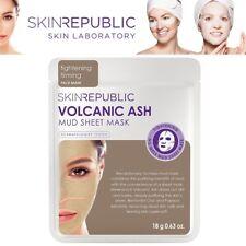 Skin Republic Volcanic Ash Mud Sheet Tightening Firming Face Mask Soft Skin