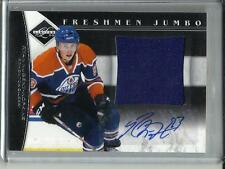 Ryan Nugent-Hopkins 11/12 Panini Limited Autograph Game Used Jersey Rookie 36/99