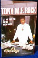 Tony M. F. Rock Let Me Take You To The Rock House CASSETTE TAPE