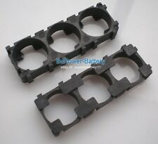 10pc Battery Spacer 3x 26650 Radiating Shell EV A123 Battery Plastic Heat Holder