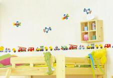 Transport LARGE Wall Decor Vinyl Decal Sticker Removable Nursery Art Kids Boys