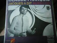 CLAUDE FRANCOIS   45PS  JACQUES A DIT  BELGIQUE