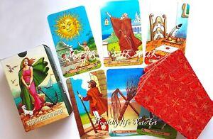 Карты ТАРО ЛЕНОРМАН БЕЗРАМОЧНОЕ TAROT cards LENORMAND BORDERLESS Russian Laminat