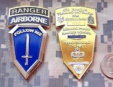 UNIQUE US Army 4th Ranger Infantry Training BN Benning Airborne Challenge Coin
