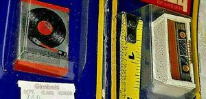 VINTAGE SWEDEN LUNDBY DOLLHOUSE RADIO RECORD PLAYER LOT 5492 NRFP MIP LOT