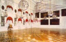 1977 Russia. Petrodvorets, The Great Palace - The Throne Room