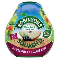 Robinsons Squash serait FRUITS Sans Sucre Concentré Mélangeur 66 ml pomme cassis