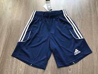 Men's Adidas Squadra 13 Performance Climalite Shorts S Navy W53407 Brand New