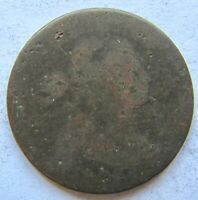 1803 1C BN Draped Bust Large Cent AG / Good Detail Cleaned