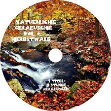 NATÜRLICHE GERÄUSCHE Vol. 6 - HERBSTWALD Entspannung Audio CD Chillen Wellness