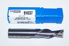 """1/2"""" (.5000"""")  2 FLUTE CARBIDE DOWNCUT ROUTERS SGS for WOOD AND PLASTIC 91037"""
